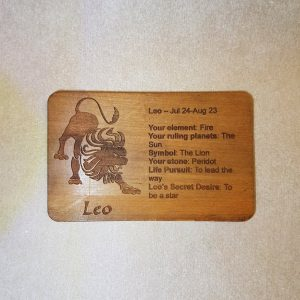 Image of a Leo WoodenBetOnIt Card