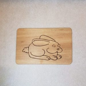 Image of a Forget Rabbit Feet WoodenBetOnIt Card