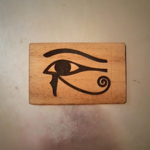 Eye of Horus WoodenBetOnIt Card Zodiac Star Signs