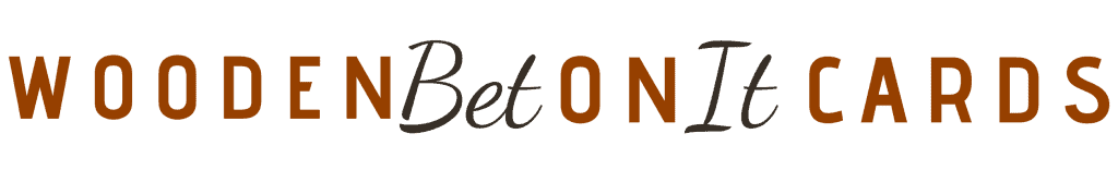 WoodenBetOnit Cards Logo