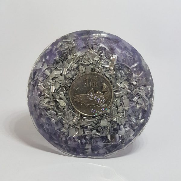 Pensive Mood Orgone Energy Orgonite Cone 6cm 2