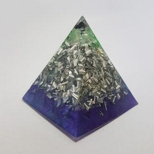 Silver Dancer Quartz Orgoneit Pyramid 6cm