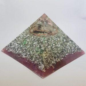 Macrocosm Holy Hand Grenade Orgonite Orgone Pyramid 9.5cm