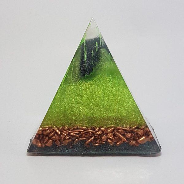 Powerhouse Orgonite Pyramid 4cm 1
