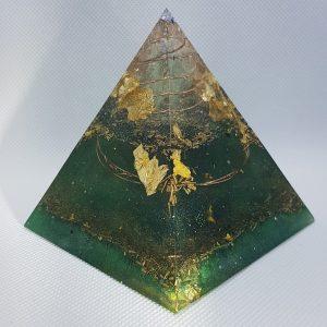 Take the Plunge Orgonite Pyramid 9cm