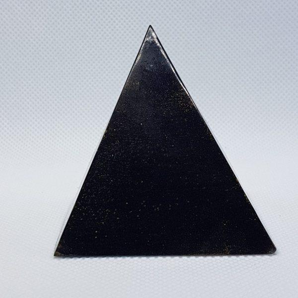 Golden Light Shungite Orgone Orgonite Pyramid 6cm 1