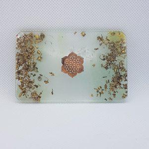 Ponderosa Orgonite Card