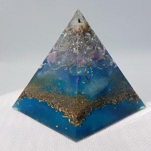 Phased Array Orgone Orgonite Pyramid 6cm