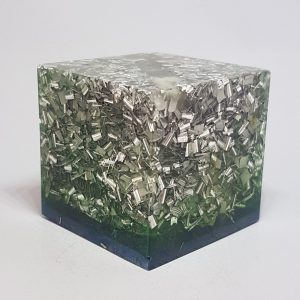 The Borg Tower Buster Orgonite Cube 4cm