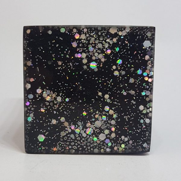 One World Tower Buster Orgonite Cube 4cm 2