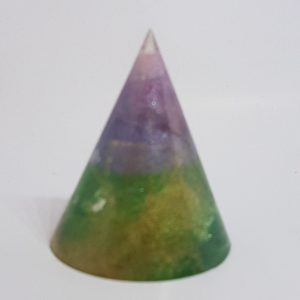 Petri Dish OrgoneIt Orgonite Cone 4.5cm