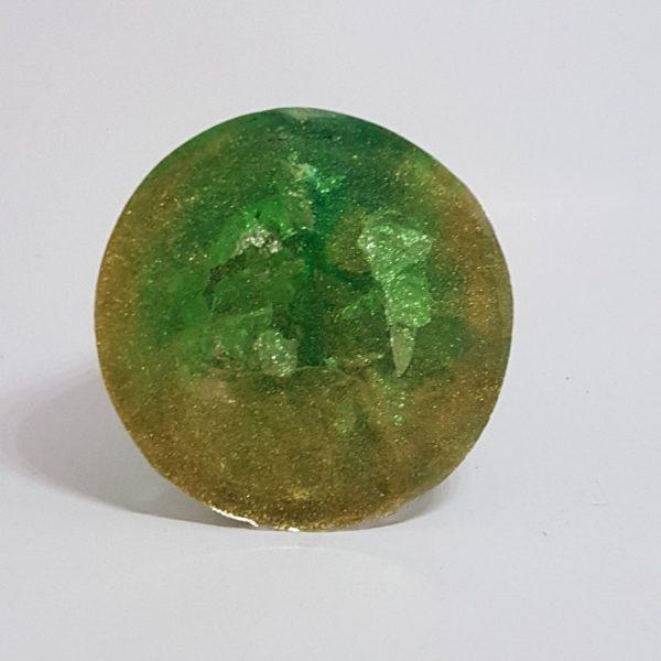 Petri Dish OrgoneIt Orgonite Cone 4.5cm 2