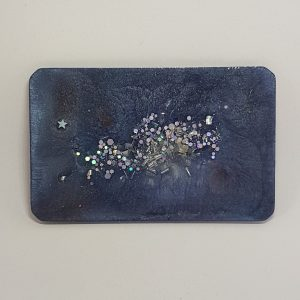 Starry Night Quartz Orgonite Orgone Card