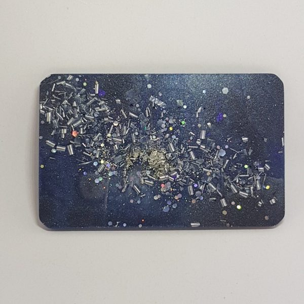 Starry Night Quartz Orgonite Orgone Card 1