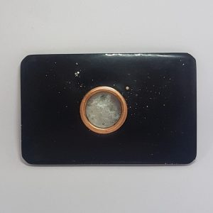 One Love Shungite Orgone Orgonite Card
