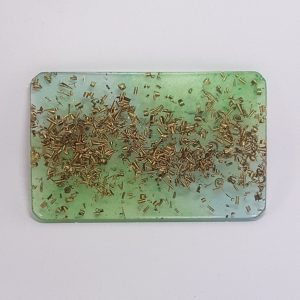 Sky and Earth Orgonite Card