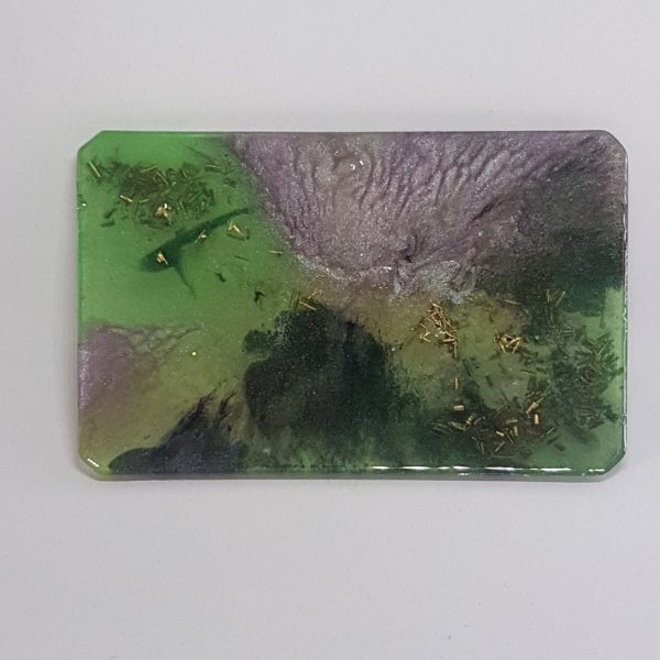 Monet Vistas Orgonite Card 1