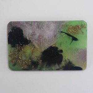 Monet Vistas Orgonite Card