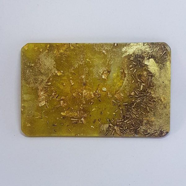 Gold Ray OrgoneIt Orgonite Card 1
