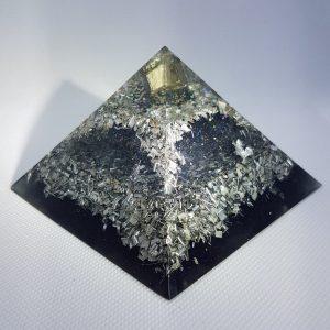 Asteroid Field Orgonite Orgone Pyramid 9.5cm