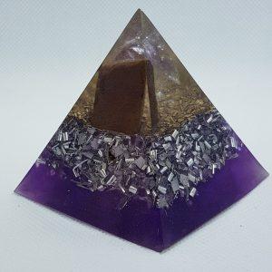 Milestone Orgone Orgonite Pyramid 6cm