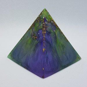 Enchantress Orgone Orgonite Pyramid 6cm