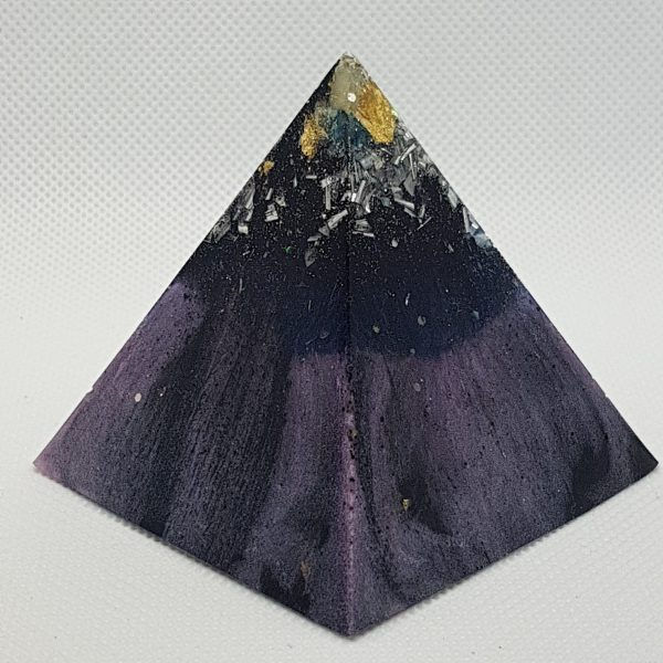 High Powering Orgone Orgonite Pyramid 6cm 4