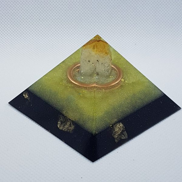 Sunraysia Orgonite Pyramid 7cm Mini Giza 1