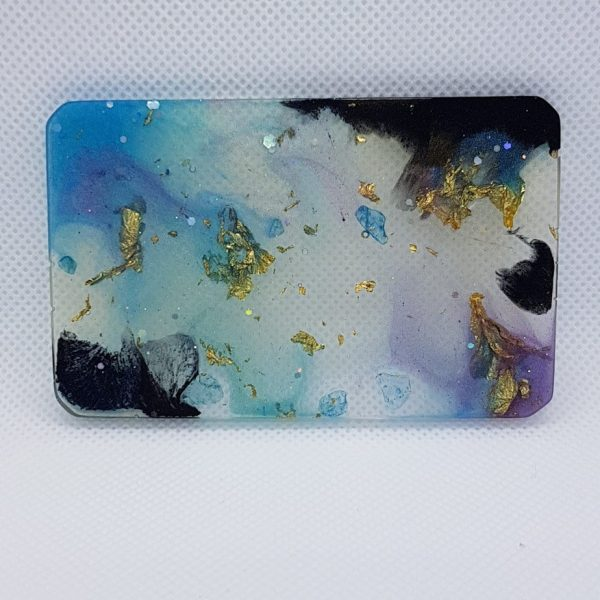 Smoke and Mirrors Orgone Orgonite Card 1