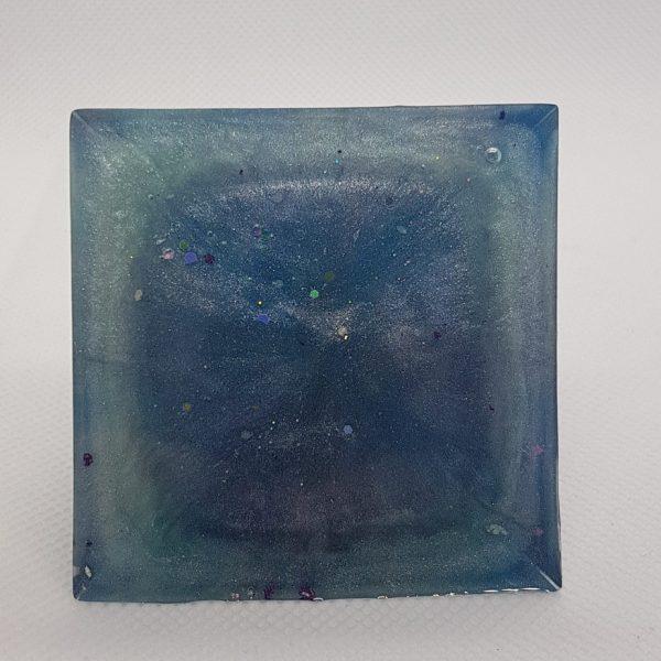 Blue Velvet Orgone Orgonite Pyramid 6cm 3