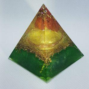 Terrafirma Orgone Orgonite Pyramid 6cm