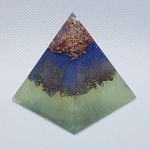 Awaken the Soul Orgone Orgonite Pyramid 5cm