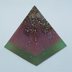 Welcome Home Orgone Orgonite Pyramid 3cm