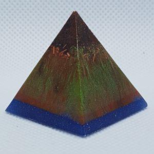 Chaos Theory Orgone Orgonite Pyramid 3cm