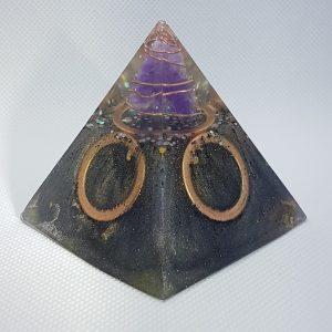 Free the Chains Orgone Orgonite Pyramid 6cm