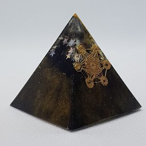 Period of Change Orgone Orgonite Pyramid 4cm