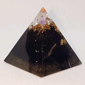 PowerBack Orgone Orgonite Pyramid 5cm