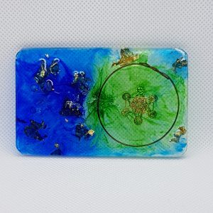 Sacred Moon Rise Orgone Orgonite Card