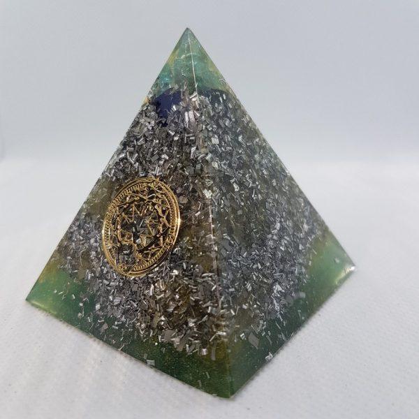 Khazad-dûm Orgone Orgonite Pyramid 6cm 1