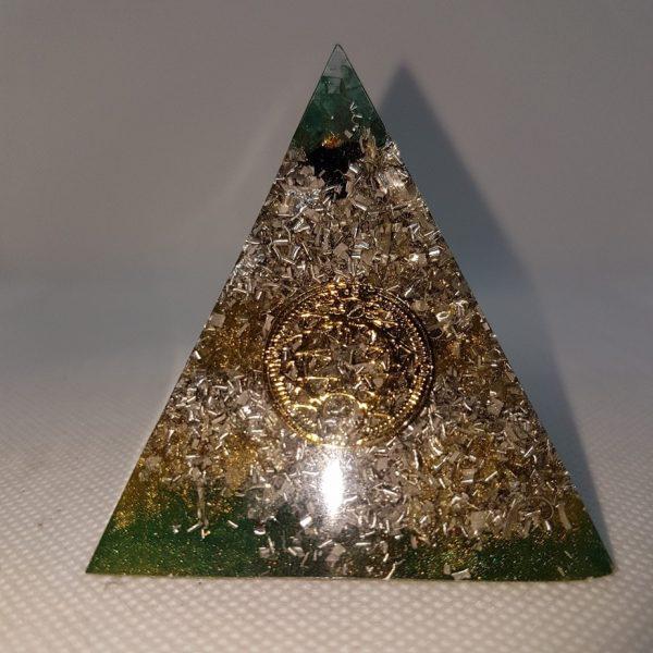 Khazad-dûm Orgone Orgonite Pyramid 6cm 3