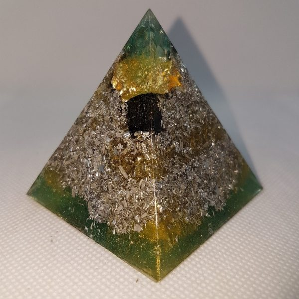 Khazad-dûm Orgone Orgonite Pyramid 6cm 2