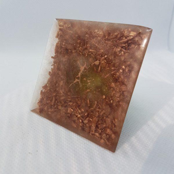 Thought Germination Orgone Orgonite Pyramid 6cm 3