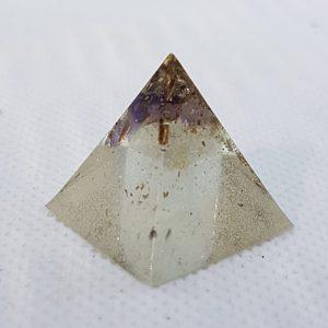 Clear Mind Orgonite Pyramid 2cm