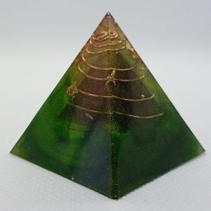 Mind within a Mind Orgone Orgonite Pyramid 4cm