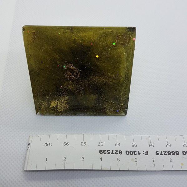 GoldenEye Orgone Orgonite Pyramid 6cm 5