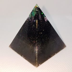 New Life Orgone Orgonite Pyramid 6cm