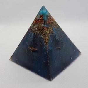 Worlds Orgone Orgonite Pyramid 6cm