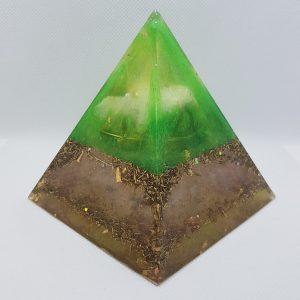 Primordial Ooze Orgone Orgonite Pyramid 9cm