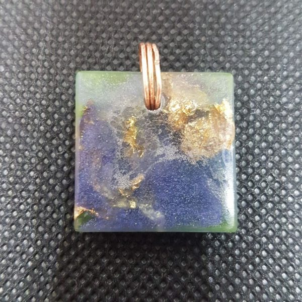 2nd Generation Pendant #2 Orgone Orgonite Pendant 1