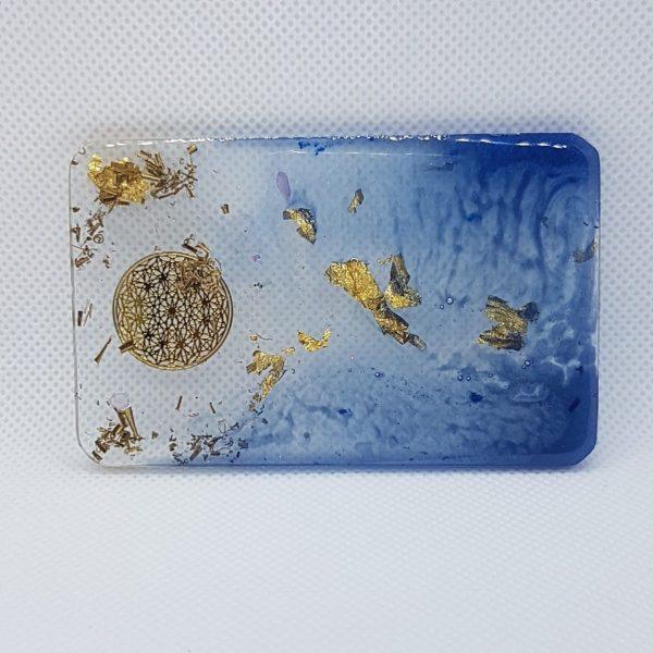 Orbital Star Orgone Orgonite Card